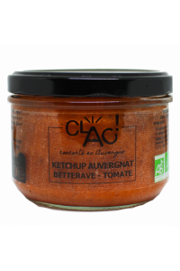 KETCHUP AUVERGNAT BETTERAVE TOMATE